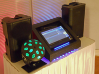 This isGeorge, our exciting low cost Virtual Disck Jockey music and party system!